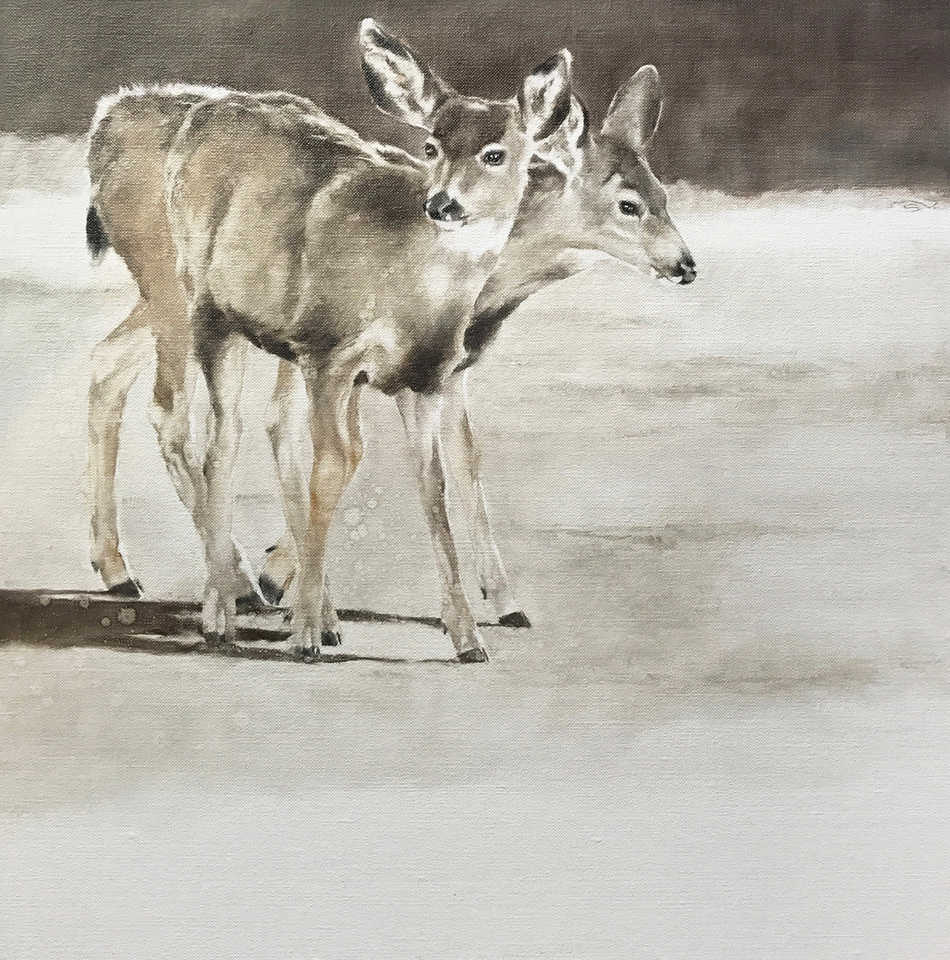 September Vhay Painter DEER RUN DUO