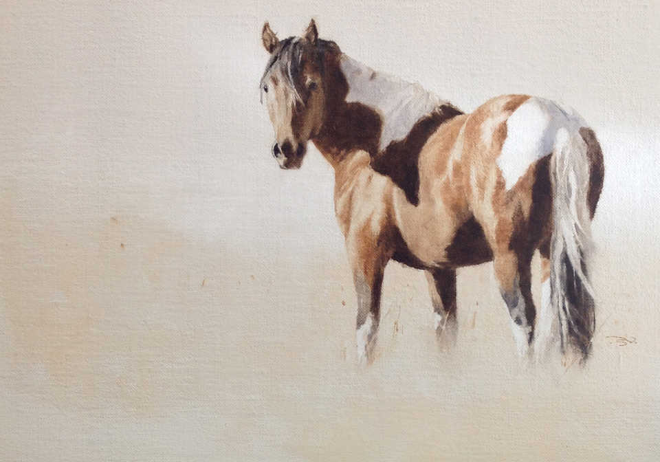 Jackson, Wy Oil Painter September Vhay - DEER RUN TOBIANO